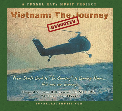 CD Cover - Vietnam: The Journey - Rebooted