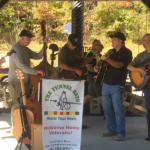 Tunnel Rats performing at the Band of Brothers Veterans Memorial Park in Murphy, NC. October 6, 2017