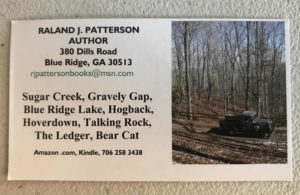 Raland Patterson Business Card